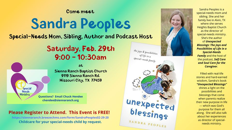 Sandra Peoples Event